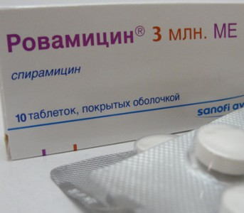 Отзывы о Ровамицине (антибиотик)