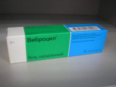 Виброцил гель на помощь при простуде, ринитах и синуситах