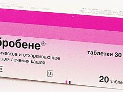 Таблетки Амбробене. Показания к применению