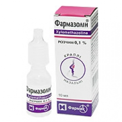 Фармазолин при отеке слизистой носа