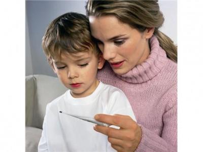Как сбивается повышенная температура тела у ребенка?