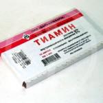 Инструкция Тиамина