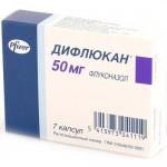 Таблетки Дифлюкан как противогрибковый препарат