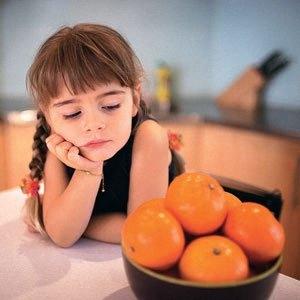 Диета у детей при аллергии