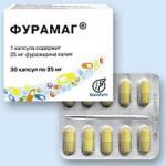 Применения Фурамага при инфекционно-воспалительных заболеваниях
