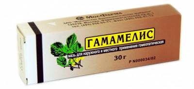 Мазь гамамелис гомеопатическая