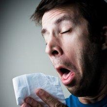 Простуда на носу