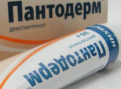 Информация о таком препарате как Пантодерм