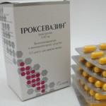 Троксевазин в таблетках – эффективная помощь ослабленным сосудам