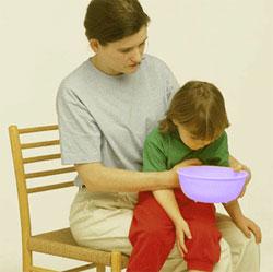 Очень важно определить причину возникновения рвоты у ребенка