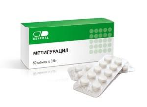 метилурацил таблетки инструкция по применению для детей
