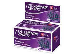 В случае препарата Пустырник форте, действие усиливается добавлением магния и витамина В6