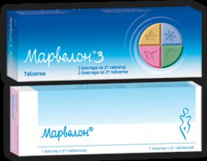 Марвелон таблетки инструкция по применению