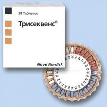 Гормонозаместительный препарат — Трисеквенс