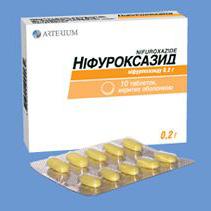 Нифуроксазид назначают при дисбактериозе кишечника, разных видах диареи