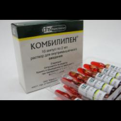 Препарат Комбилипен – это активная смесь нескольких витаминов группы В