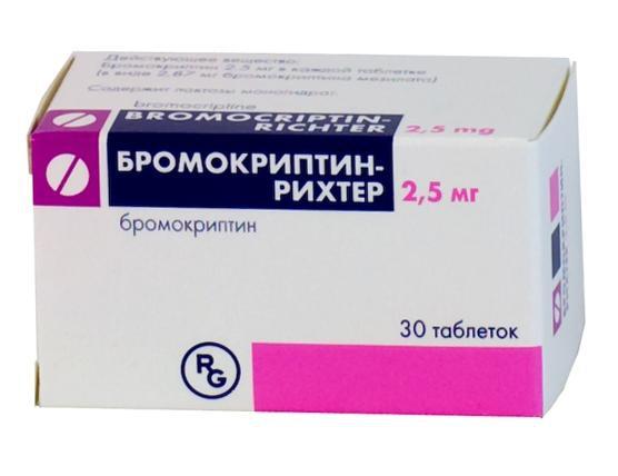 Бромокриптин — Рихтер. Отзывы врачей и пациентов