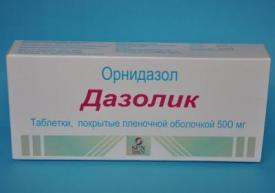 Дазолик является одним из наилучших противопротозойных препаратов
