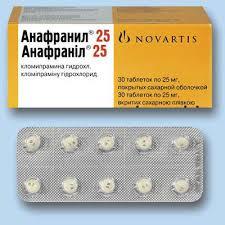 Анафранил  используется в качестве отдельного средства лечения депрессивных состояний на фоне фобий и посттравматического расстройства