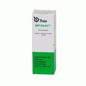 При бактериальном конъюнктивите используют капли в глаз Витакап