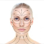 Какие есть массажные линии на лице и шее?