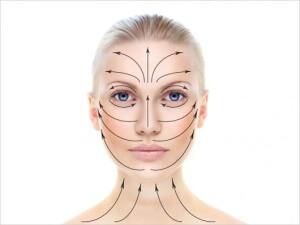 Для того, чтобы обеспечить на долгое время молодость, абсолютно все косметологические операции такие, как использование крема, масок, очищение кожи и массаж лица должны опираться только на массажные линии лица