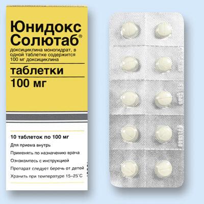 Доксициклин или Юнидокс Солютаб: выясняем, что лучше?