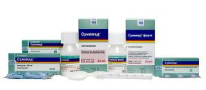 Сумамед выпускается в нескольких формах: таблетки, капсулы, порошок для инъекций