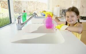 Часто аллергия на бытовую химию возникает у детей