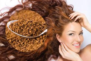 Кофе - одно из средств смывания хны с волос