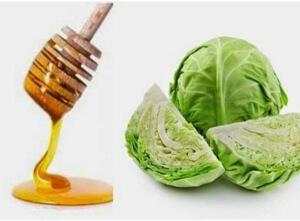 Народная медицина рекомендует использование меда и капустного сока