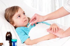 Причиной сухого кашля может быть вирусная инфекция