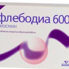 Флебодиа: фармакология и состав препарата