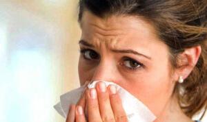 Одна из причин потери обоняния - насморк