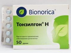Лекарство от инфекций Тонзилгон: показания к применению