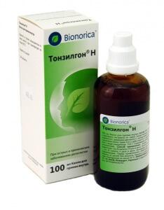 Препарат Тонзилгон содержит в себе только растительные компоненты