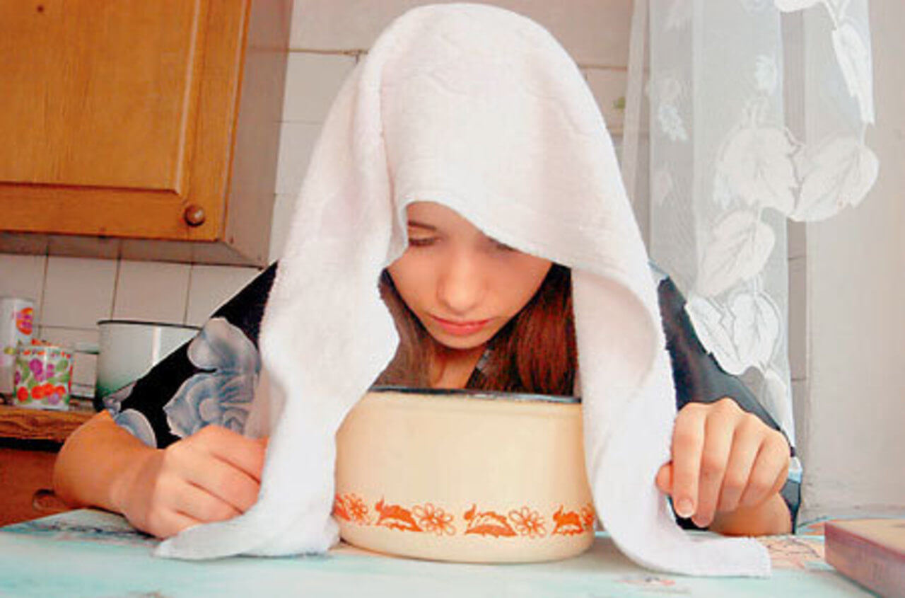 Ингаляция над картошкой в домашних условиях