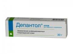 Комплексная мазь Депантол: лечебные свойства