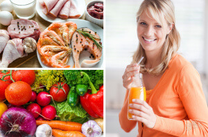 При дисбактериозе рекомендуется соблюдать определенный рацион питания