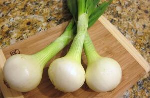 В сыром луке содержится около 40 ккал на 100 г
