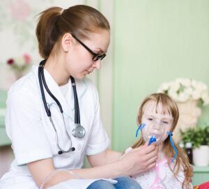 Ингаляции, направленные на устранение боли в горле разрешены детям от одного года