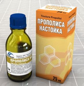 Настойку прополиса можно приобрести в аптеке или приготовить самостоятельно