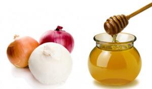 Лук с медом - эффективное средство лечения