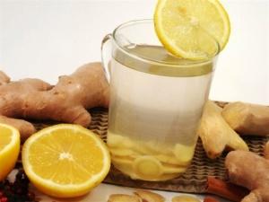 Имбирный чай - средство для повышения иммнитета