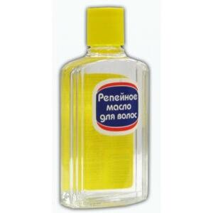 Репейное масло - препарат из растительного сырья