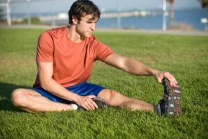 Часто растяжение возникает из-за физического перенапряжения