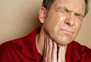 Отек горла может иметь опасные последствия