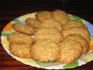 Домашнее овсяное печенье полезно для вашего здоровья