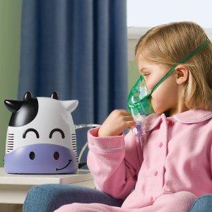 Существуют ингаляторы с маской, с помощью которых проводится лечение детей