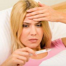 Высокая температура тела без признаков простуды у взрослого: причины патологии